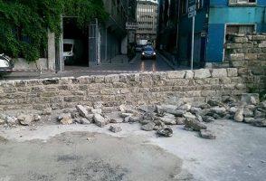 Marmaray Sirkeci Tarihi Duvarın Onarımı