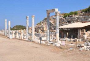 Knidos Antik Kenti Bütünleme Çalışmaları