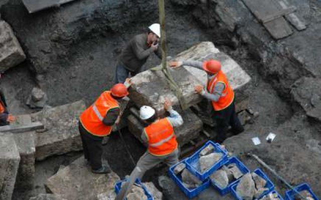 Marmaray Projesi / Duvarların Sökülmesi