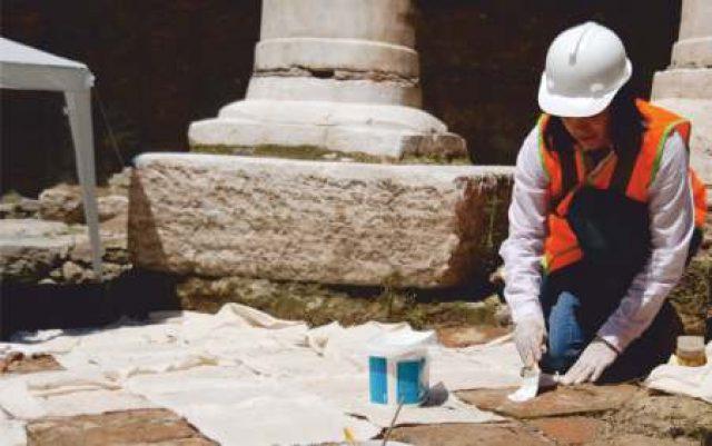 Marmaray Projesi / Tuğla Döşemelerin Sökülmesi